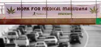 Texans Honk For Medical Marijuana