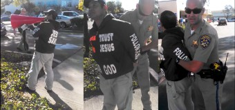 California Street Preacher Arrested For Talking Too Loudly