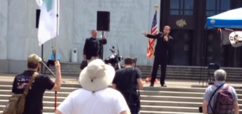 Gavin Seim Gives Liberty or Death Speech in Oregon
