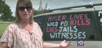 Baylor Professor Compares Waco PD to Nazi's, Posts it on Her Mini Van