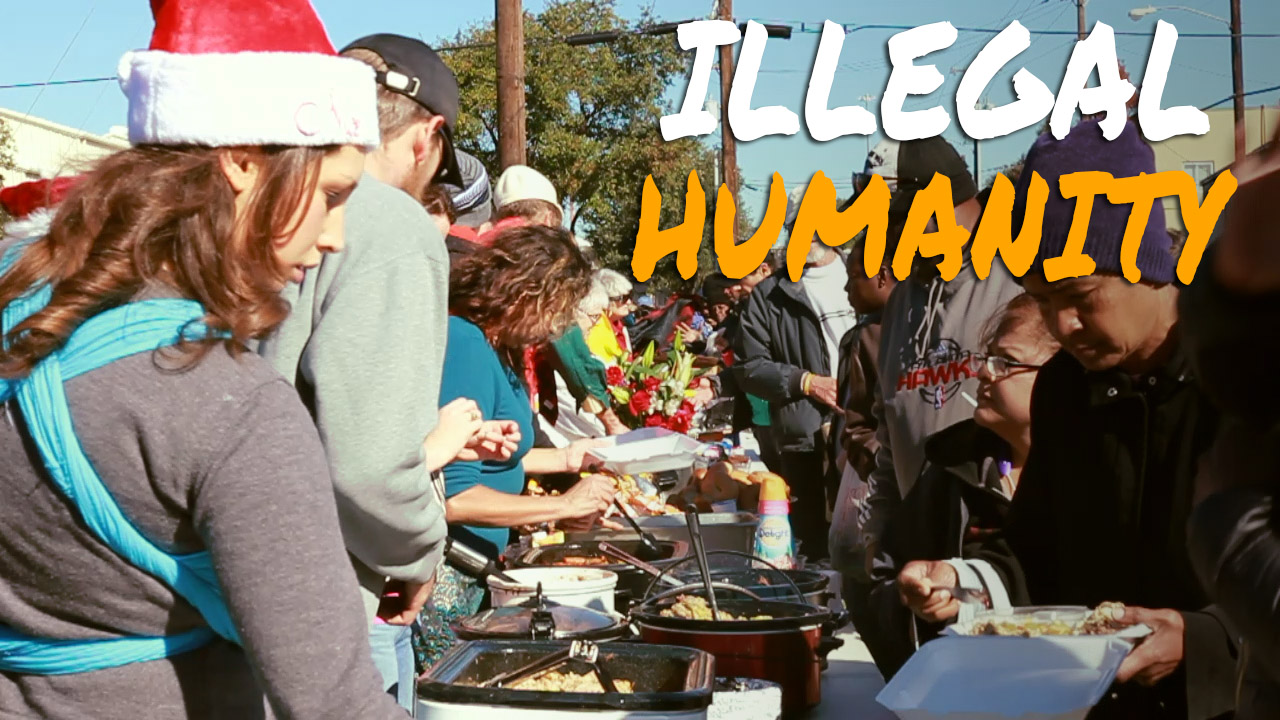 Dallas Area Activists Defy Law to Feed the Homeless