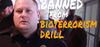 Media Kicked Out of Bio-Terrism Drill