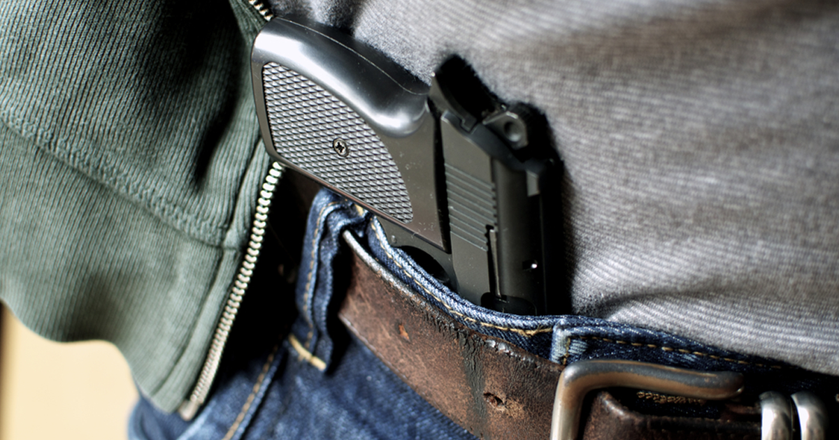 California Court Rules No Right to Carry Concealed Firearms in Public
